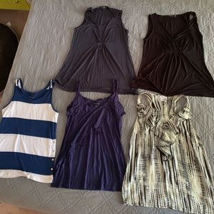 Lot of Tanks - Large (5 in total!)